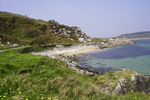 A photo of the cliffs