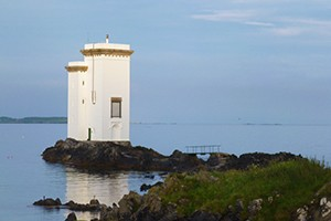A photo of the lighthouse
