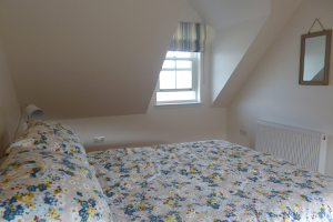 A photo of the double bedroom