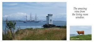 A photo of Carraig Fhada lighthouse