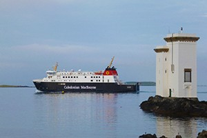 A photo of MV Finlaggan