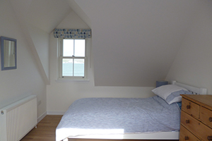 A photo of the twin bedroom
