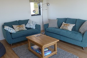 A photo of the living room